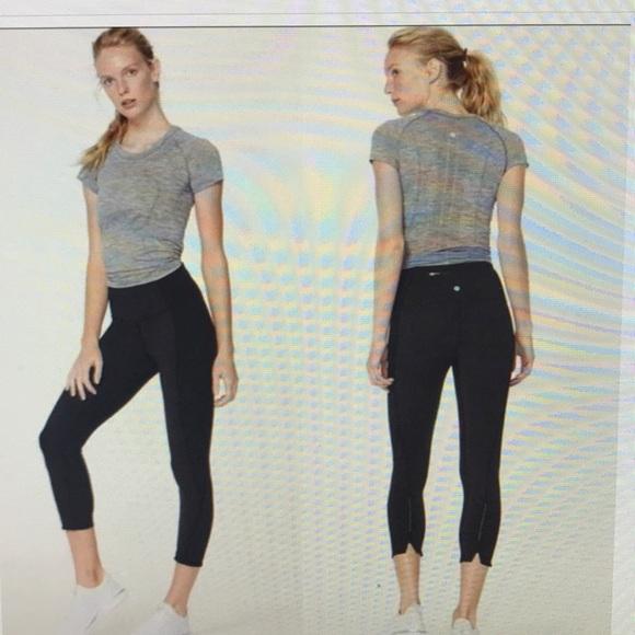 lululemon athletica Pants - Lululemon  on your markCrop Hight Rise Leggings